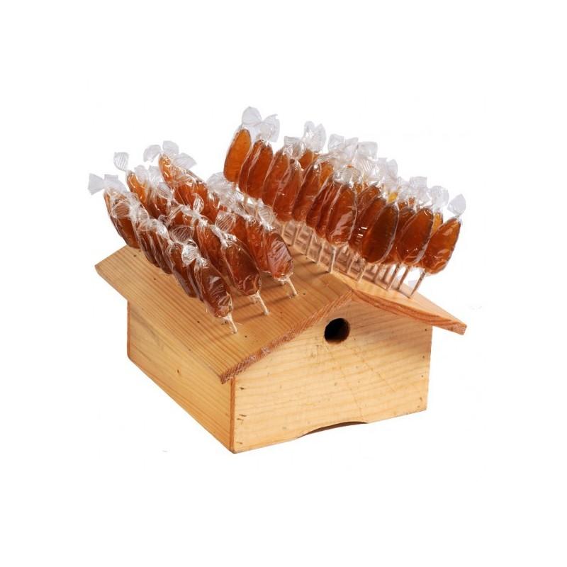 5 Sucettes au miel / caramel