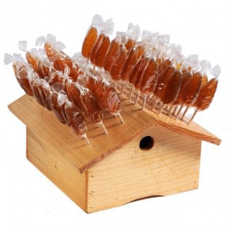 5 Honey / caramel lollipop