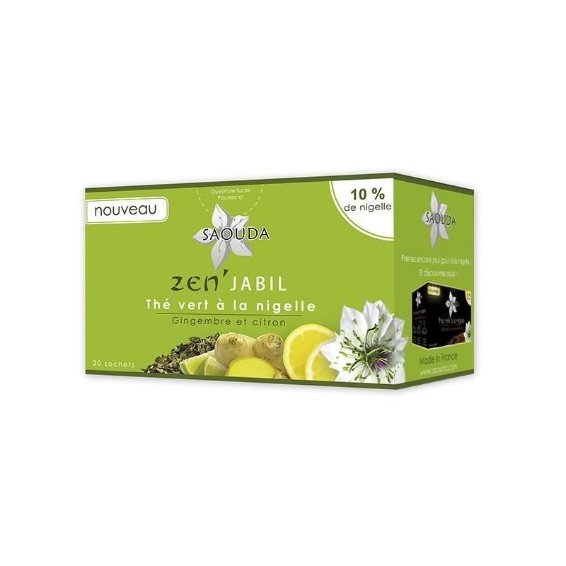 Green tea nigella ginger /...