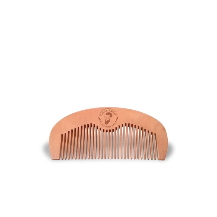 Natural comb of peach wood