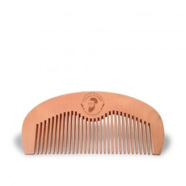 Natural comb of peach wood