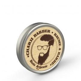 Bálsamo de barba de madera de plata
