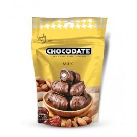 Dattes fourrées chocolat au lait 100gr