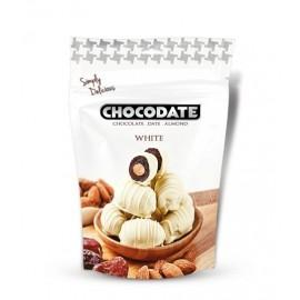 Dattes fourrées chocolat blanc 100gr