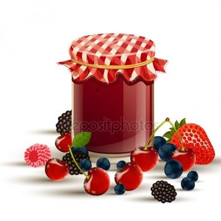 Organic Blueberry Confit