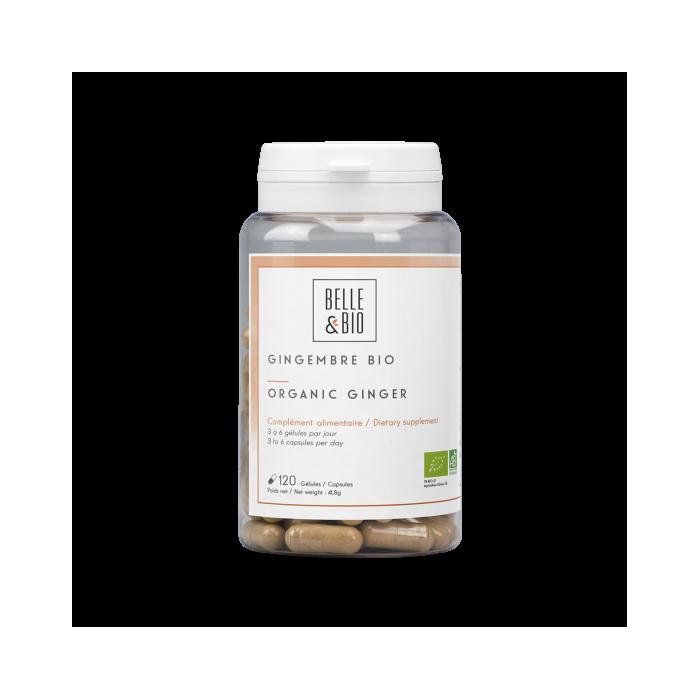 Organic Ginger capsules