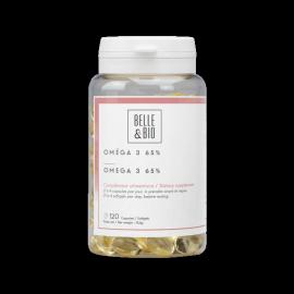 Gélules d'Oméga 3 à 65% (excellent pour le cœur)
