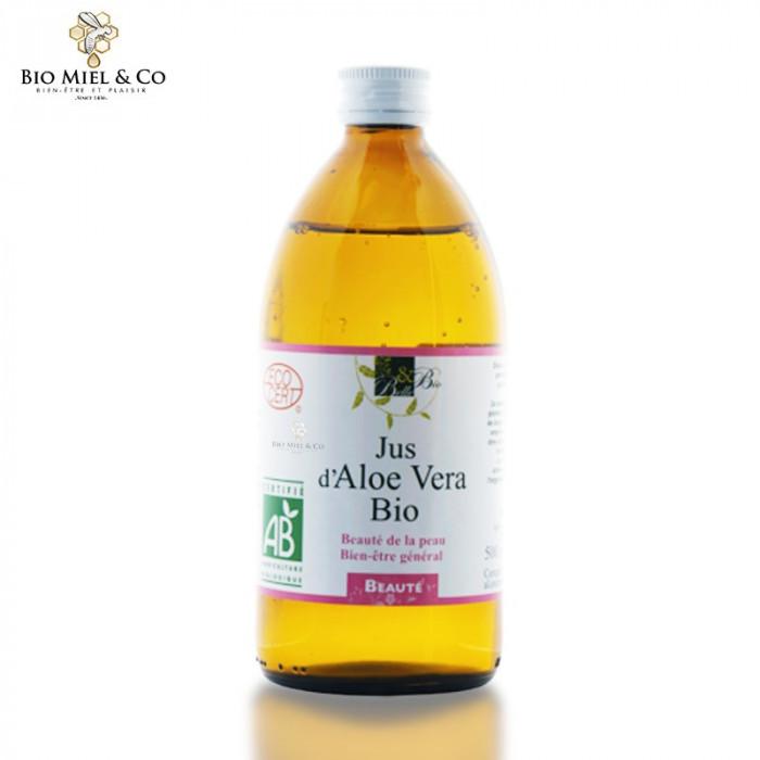 Jus d'Aloe Vera BIO (détoxifie la peau)