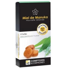 Pastilles au miel de Manuka 10+ et Eucalyptus