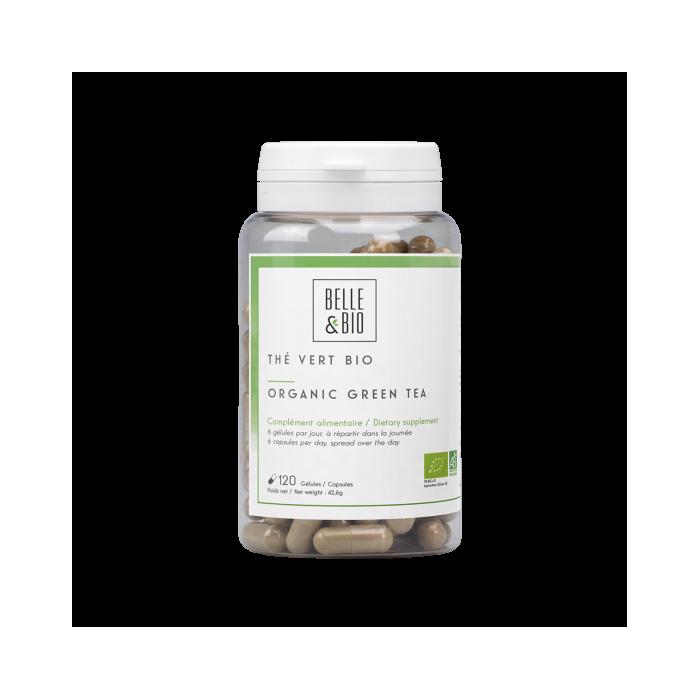 Té verde ecológico certificado Ecocert (cápsulas)