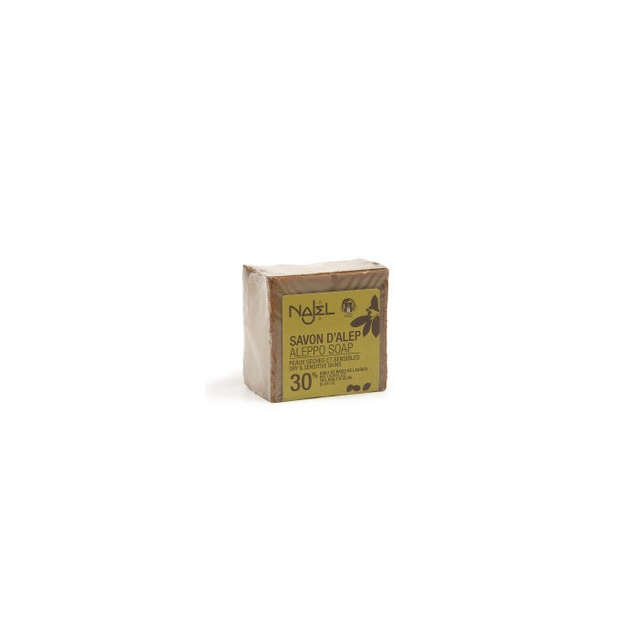 Aleppo soap with 30% bay bay oil