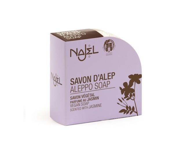 Savon d'Alep BIO parfumé au jasmin