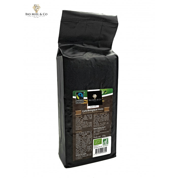 "Café en grains PUR ARABICA grand cru ""AB BIO"""