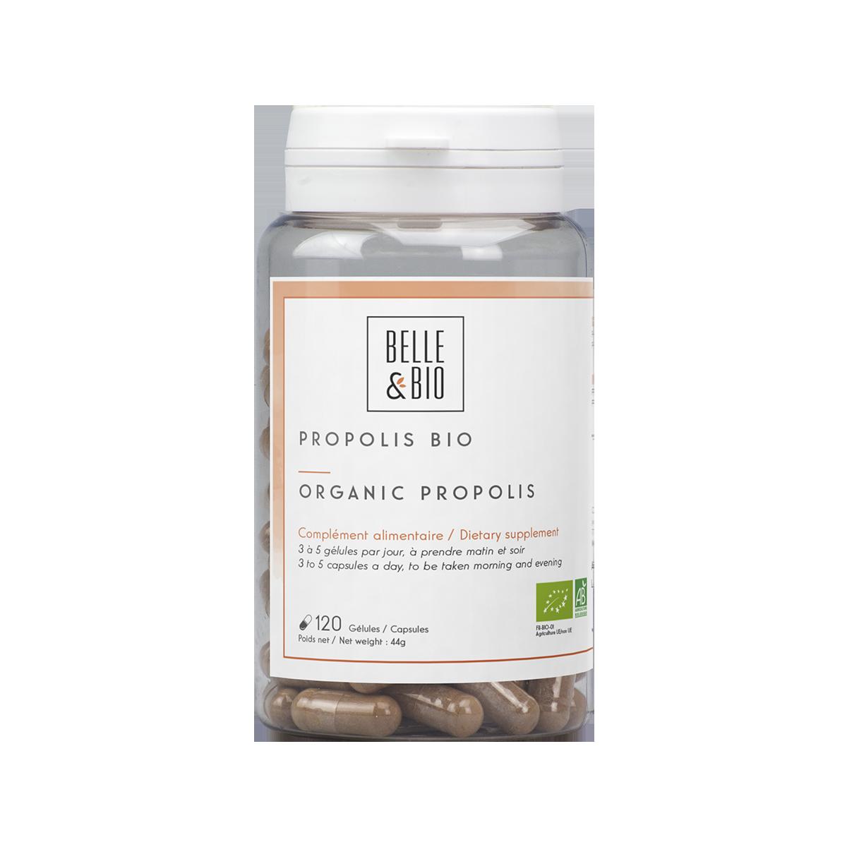 Organic Propolis capsules