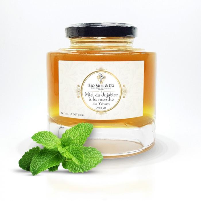 Jujube honey from Yemen with Mint